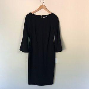 Calvin Klein fitted black dress